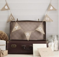 image of Cards Hessian Burlap Bunting
