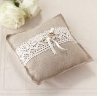 image of Vintage Ring Cushion