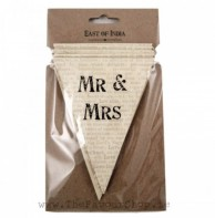 image of Paper Bunting - Mr & Mrs