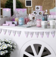 image of Frills and Spills Candy Buffet Bunting
