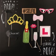 image of Hen Party Photo Booth Props