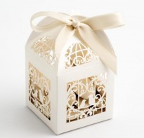 image of Favour Boxes - Birdcage Style