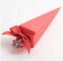 image of Favour Boxes - Cone Style