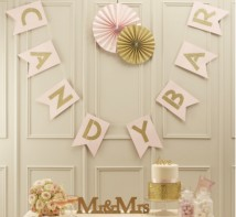 image of Candy Bar Bunting - Pastel Perfection