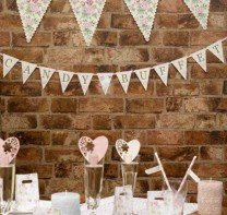image of With Love Candy Buffet Bunting